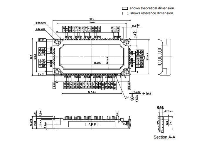 طرح کلی آی جی بی تی 7MBR150VN120-50