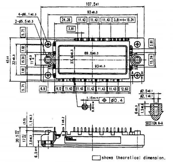 طرح کلی آی جی بی تی 7MBR20SA060