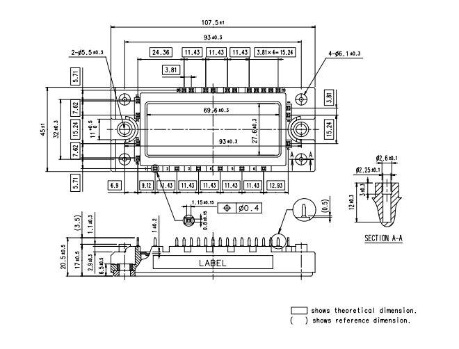 طرح کلی آی جی بی تی 7MBR50UA120
