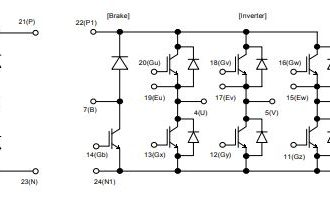 شماتیک آی جی بی تی 7MBR50UA120