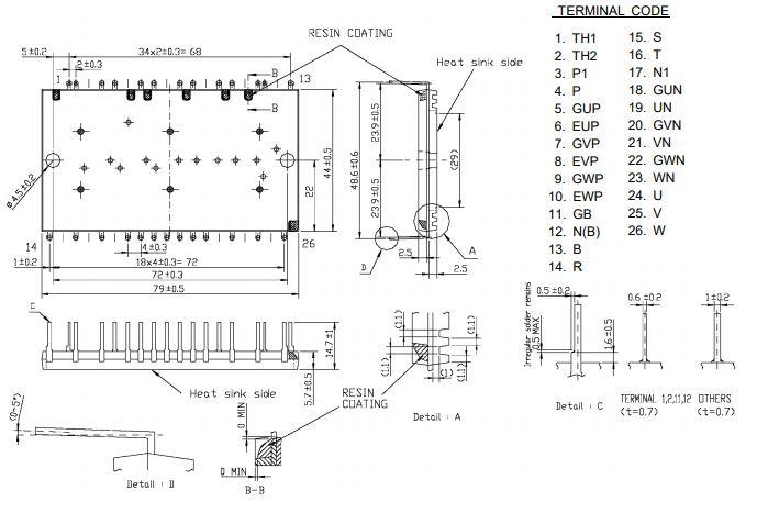 طرح کلی آی جی بی تی CP10TD1-24A