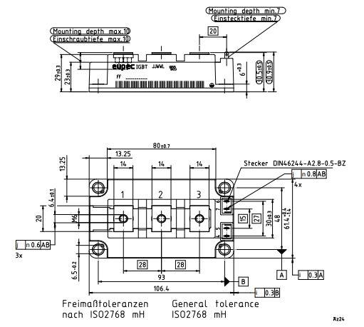 طرح کلی آی جی بی تی FF200R12KT4