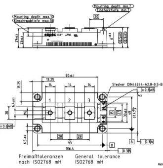 طرح کلی آی جی بی تی FF300R12KT4