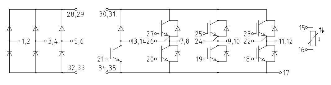 شماتیک آی جی بی تی FP40R12KT3G