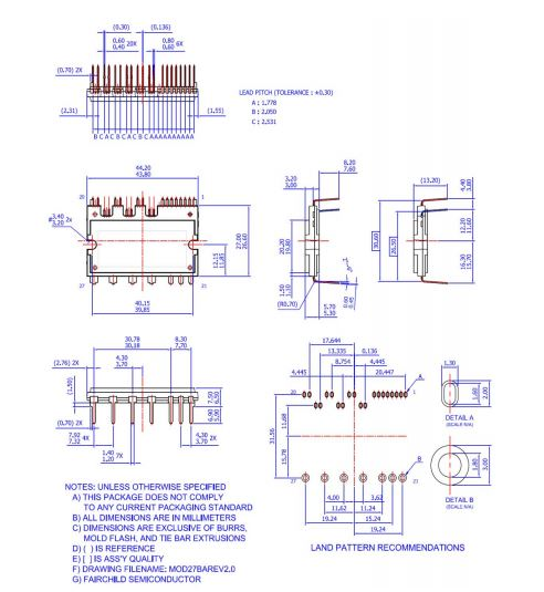 شماتیک آی جی بی تی FSBB30CH60C