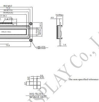 طرح کلی ال سی دی WEG010016AGPP5N00000