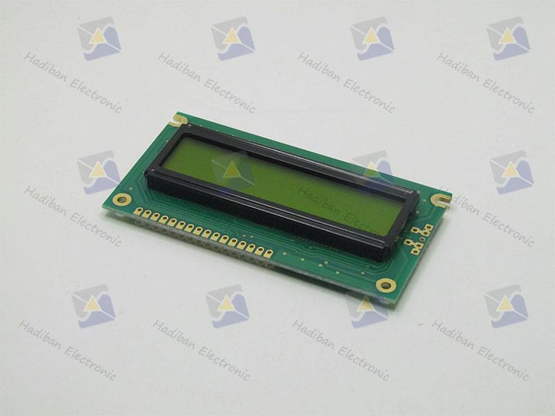 ال سی دی کاراکتری 2*16 سبز با پارت نامبر WH1602A-NYG-JT#