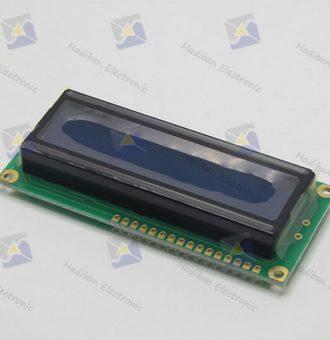 ال سی دی کاراکتری 2*16 آبی با پارت نامبر WH1602B-TMI-JT#