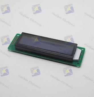 ال سی دی کاراکتری 2*20 آبی با پارت نامبر HBC2002-ATM