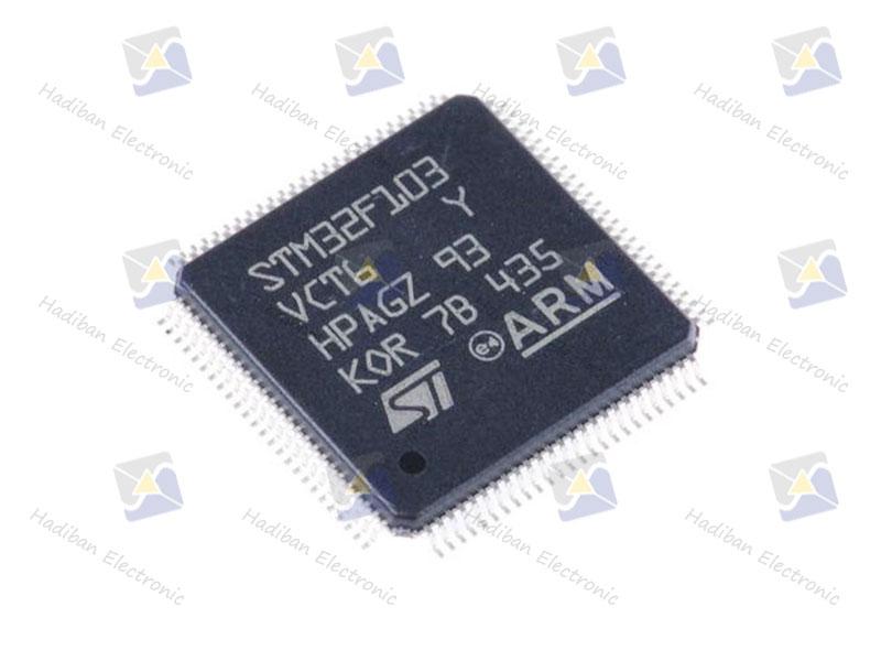 آی سی STM32F103VCT6