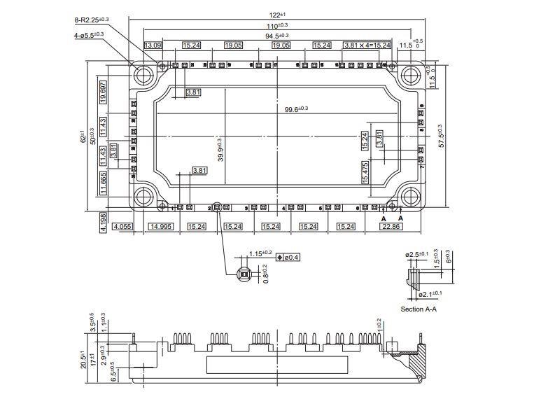 شماتیک ای جی بی تی 7MBR50SB-120