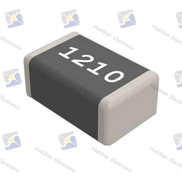 مقاومت 1 اهم SMD کد 1210 با خطای 5 درصد