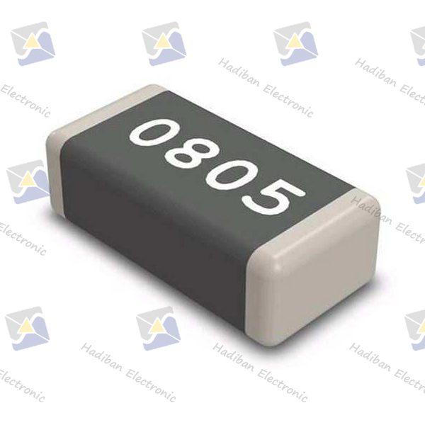 مقاومت-2.2M-اهم-SMD-کد-0805-با-خطای-1-درصد