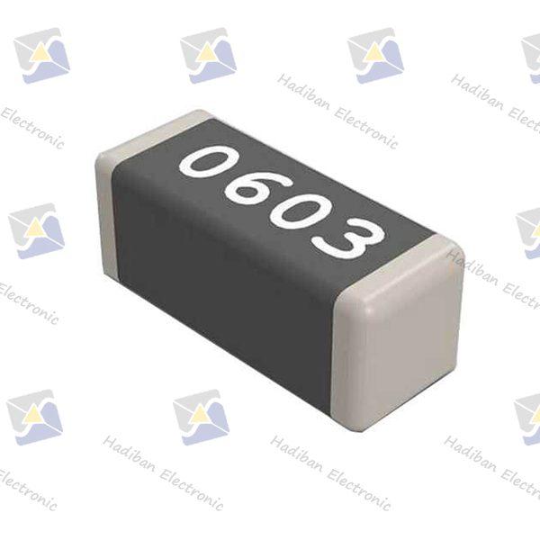 مقاومت-220K-اهم-SMD-کد-0603-با-خطای-1-درصد