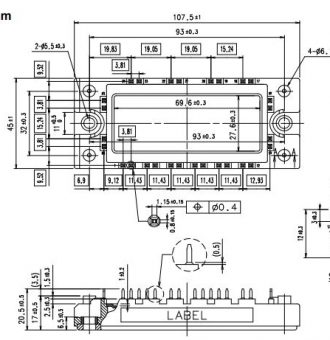 6MBI100VA-120-50-outline drawing