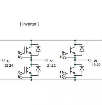 شماتیک ای جی بی تی 6MBI50VA-120-50