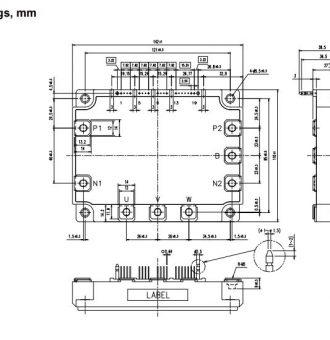 7MBP150VEA-120-50-outline drawing