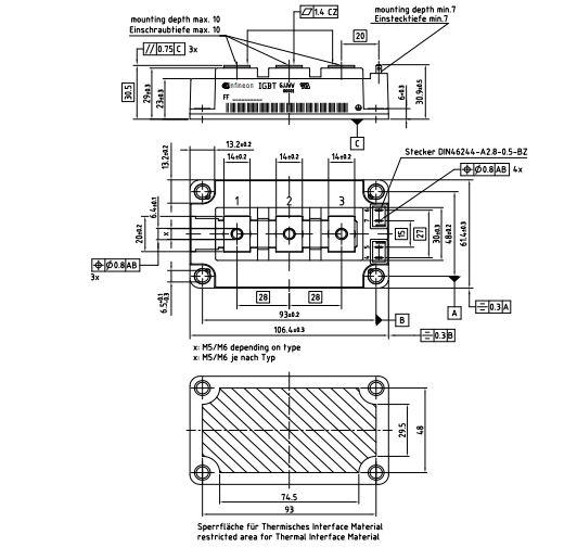 طرح کلی آی جی بی تی FF400R12KT4
