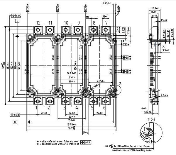 طرح کلی آی جی بی تی FS450R12KE3