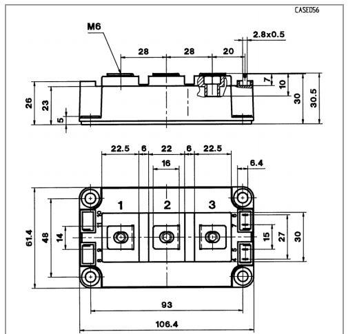 طرح کلی آی جی بی تی SKM200GB12T4