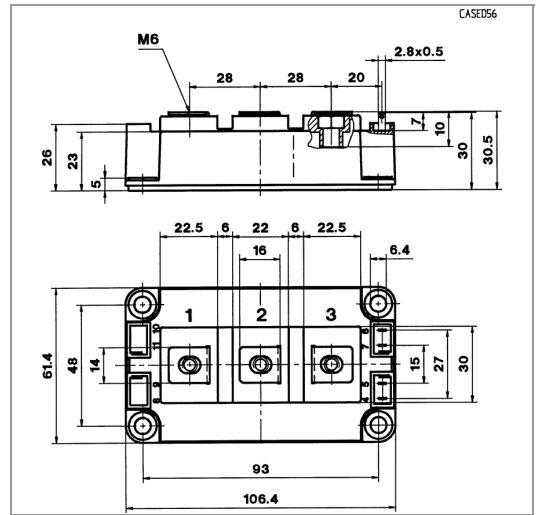 طرح کلی آی جی بی تی SKM400GB12T4