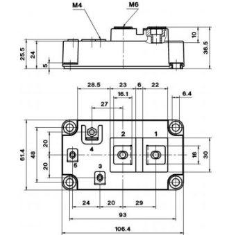 SKM800GA126D-outline drawing