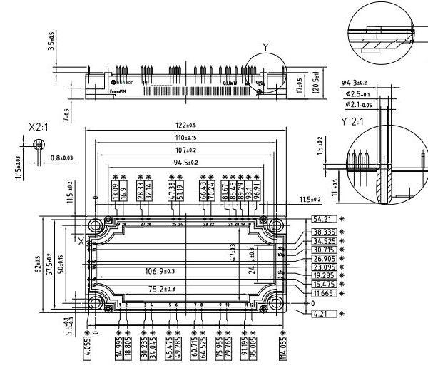 طرح کلی آی جی بی تی fp50r12kt3
