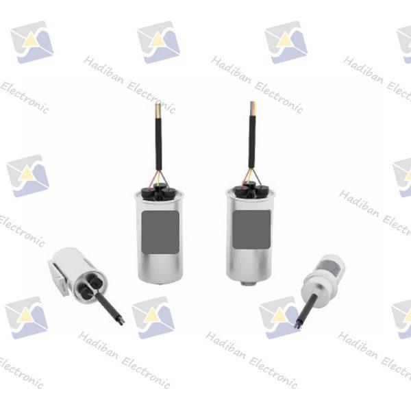 خازن AC Motor Starting Capacitor Aluminum Casing Series
