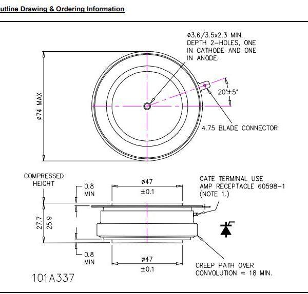 تریستور دیسکی N1588NS260