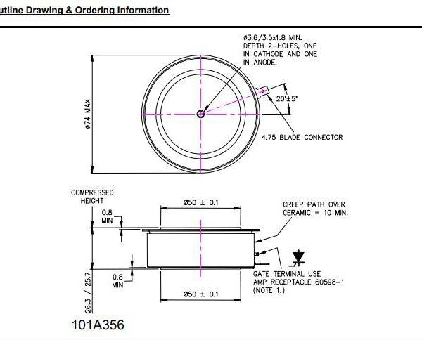 تریستور دیسکی N2015ml220