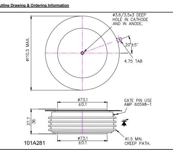تریستور دیسکی R2619ZC20KCAB